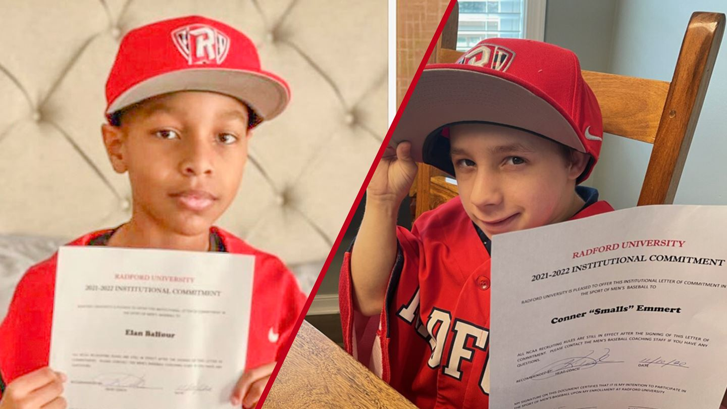 RU baseball team signs two special recruits