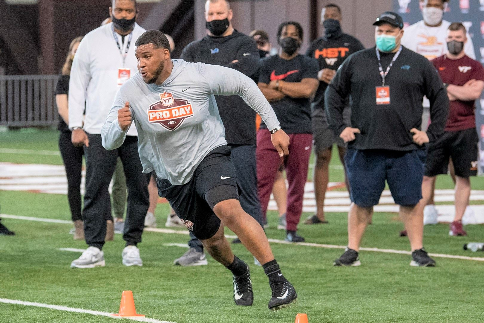 Hokies impress NFL scouts on Pro Day